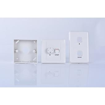 Wall control for ceiling fans with light incl. 2 frames