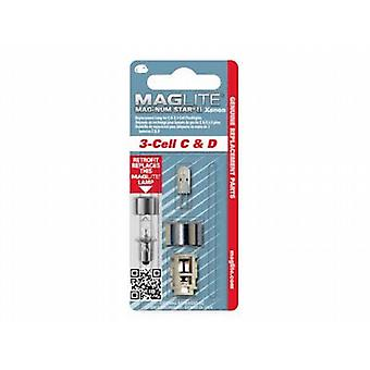 Maglite 3 Cell Magnum Star II Xenon Bulb (C/D Cell)
