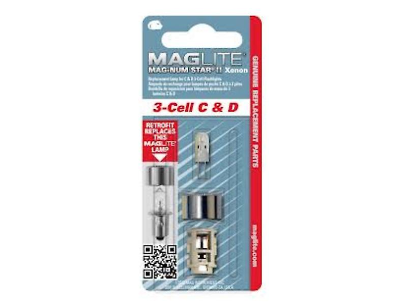 Maglite 3 Cell Magnum II stelle Xenon lampadina (Cell c/d)
