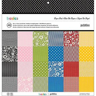 Pebbles Single-Sided Paper Pad 12