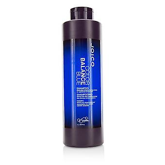 Joico Color Balance Blue Shampoo (Eliminates Brassy/Orange Tones on Lightened Brown Hair) - 1000ml/33.8oz