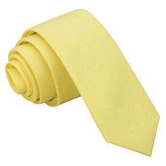 Lys gul Chambray bomull tynne slips