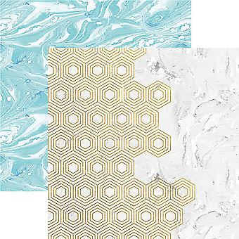 Marbleous Double-Sided Cardstock 12