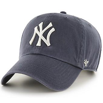 47 fire Adjustable Cap - CLEAN UP NY Yankees vintage navy