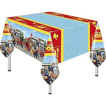 Post Pat Party Tischdecke Postbote Briefträger  Pat ca 120 x 180 cm Kindergeburtstag 1 Stück