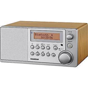 Sangean DDR-31 BT DAB+ Table top radio AUX, Bluetooth, DAB+, FM Wood