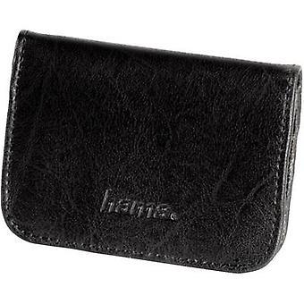 Hama 47152 Memory card pouch CompactFlash card, microSD card, miniSD card, MMCmobile card, SD card, xD card, XQD card Black