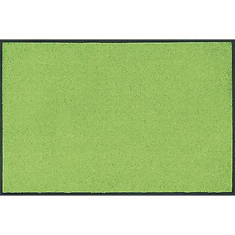 lavado + tendencia seca color verde manzana piso lavable mate verde manzana