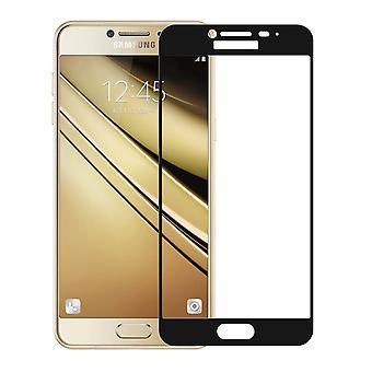 Samsung Galaxy J7 2017 3D pansrede glas folie display 9 H beskyttelsesfilm dækker tilfælde sort