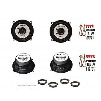 13cm coax, speaker, 2-way coax, Mazda 2 door front & rear, incl. adapter ring