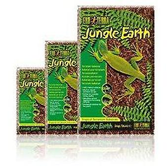 Exo Terra EXO TERRA TROPICAL SUBSTRATE JUNGLE EARTH 4.4l (Reptiles , Beds and Hammocks)