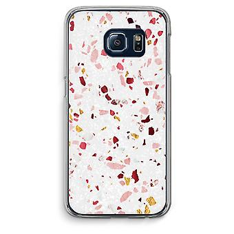 Samsung Galaxy S6 Edge Transparent Case (Soft) - Terrazzo N°9