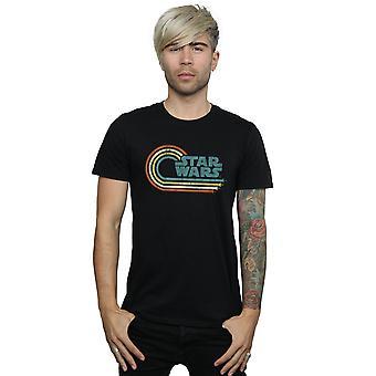 Star Wars Men's Retro Wave Logo T-Shirt