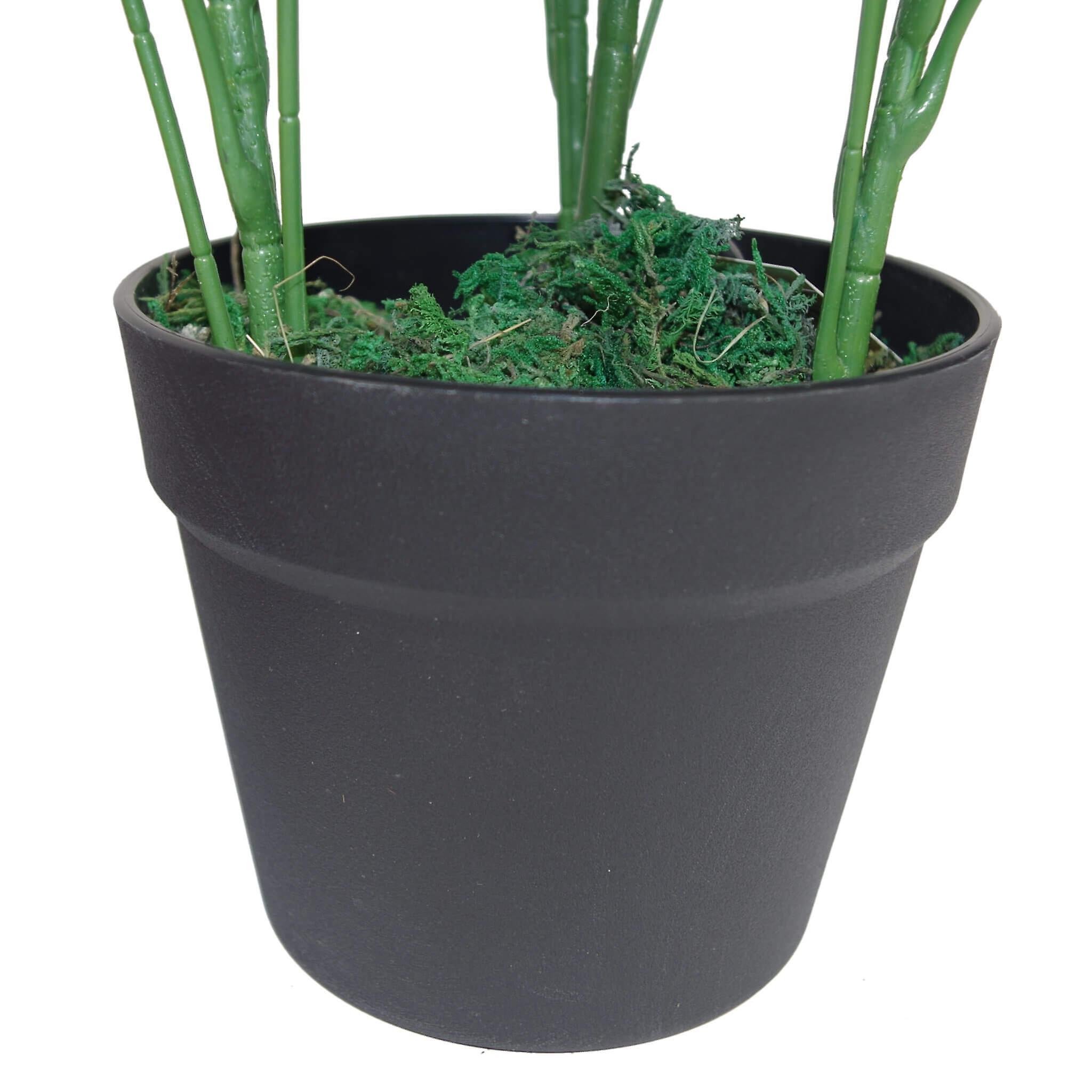 55cm Dark Green Artificial Schefflera Arboricola Plant