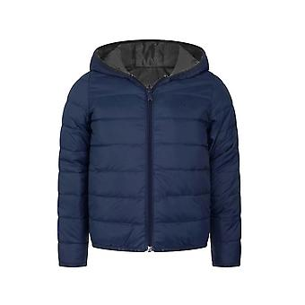Boss Hugo Boss Navy & Grey Down Filled Reversible Jacket