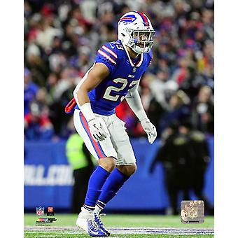 Micah Hyde 2018 Action Photo Print