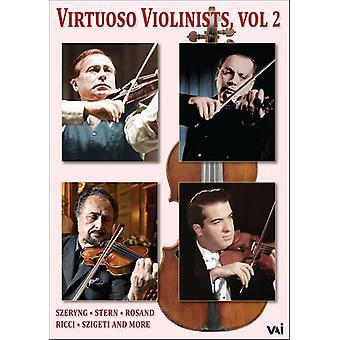 Importación de virtuosos violinistas 2 [DVD] los E.e.u.u.
