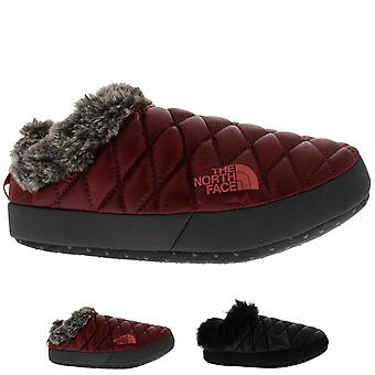 Womens The North Face Thermoball Tent Mule Faux Fur IV Cosy Slippers