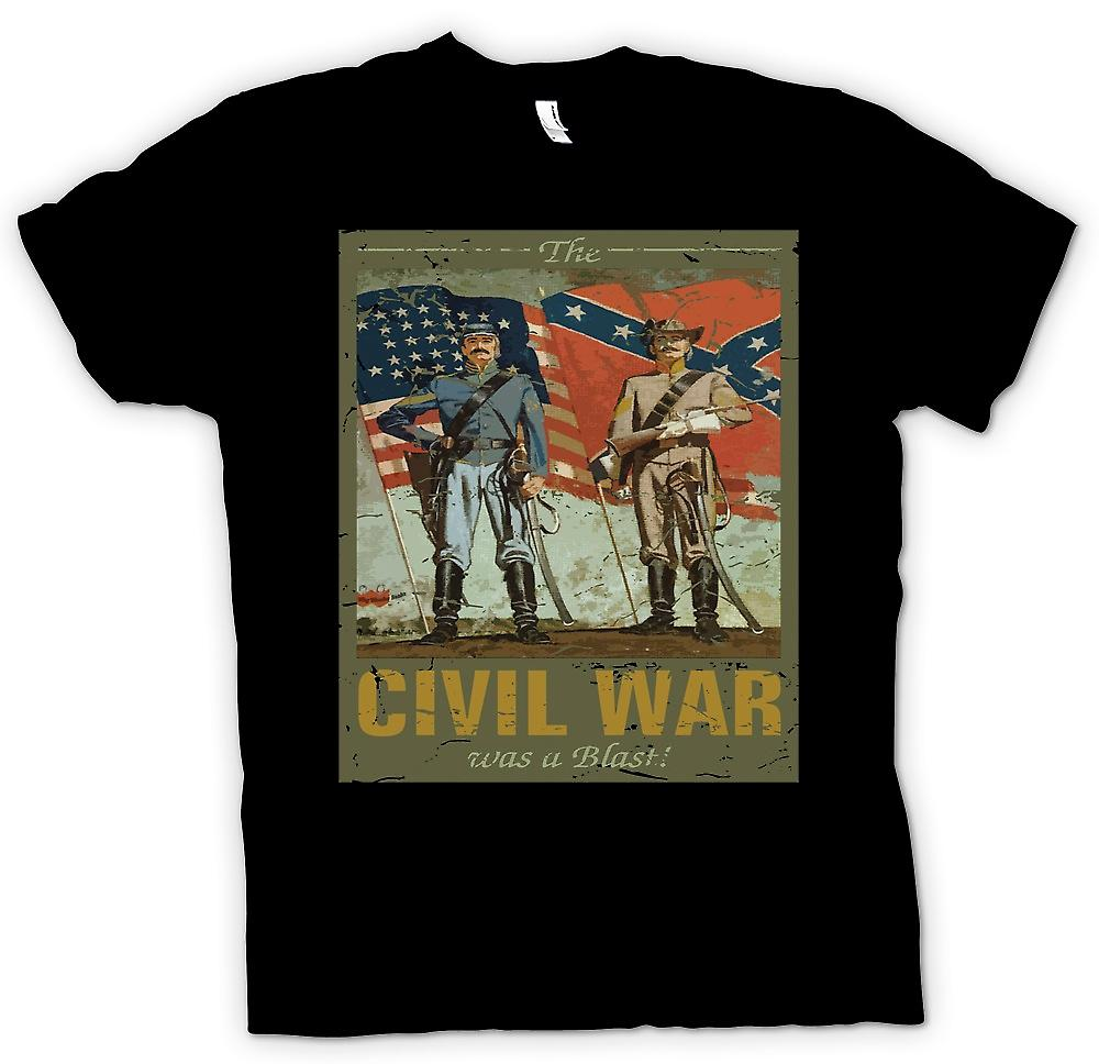 Kids T-shirt - The Civil War Was A Blast - American Civil War