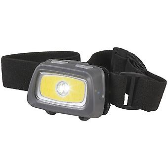 TechBrands COB LED Head Torch w/ Red & Green LEDs