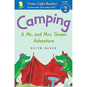 Camping: A Mr. and Mrs. Green Adventure (Green Light Reader - Level 2