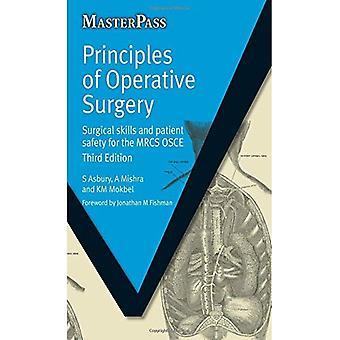 Principios de la cirugía operativa: práctica Viva de la MRC (Masterpass)