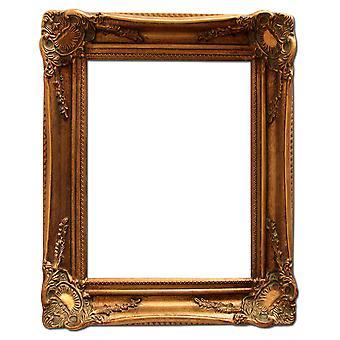 金で 13 × 18 cm または 5 x 7 インチのフォト フレーム