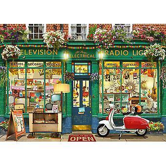 Schmidt Garry Walton electrónica tienda Jigsaw Puzzles (1000 piezas)