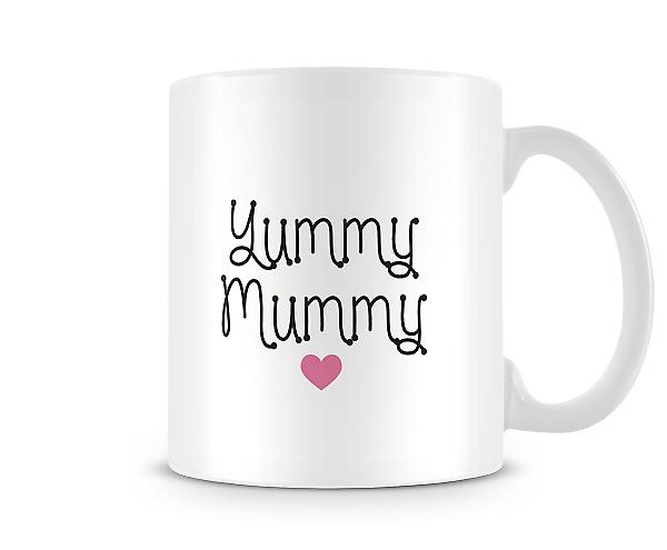 Decorative Writing Yummy Mummy Printed Mug