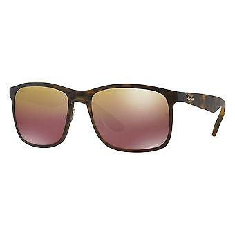 Ray - Ban RB4264 Chromance tortoiseshell mast mirrored brown gold polarized