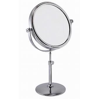 Famego 5x Magnification Adjustable Pedestal Mirror