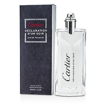 Cartier Declaration d'Un Soir Eau De Toilette Spray 100ml/3.3oz