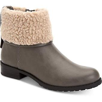 Style & Co. Womens Bettey Faux Fur Closed Toe Ankle Fashion Boots