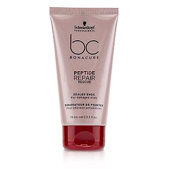 Schwarzkopf Bc Bonacure Peptide Repair Rescue Sealed Ends (for Damaged Ends) - 75ml/2.5oz