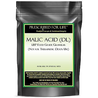 Malic Acid (DL) - USP Food Grade Granular (For Flavoring Use Only)