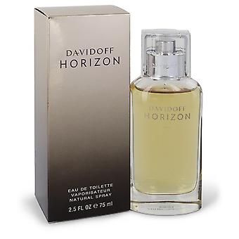 Davidoff Horizon by Davidoff Eau De Toilette Spray 2.5 oz / 75 ml (Men)