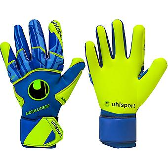 UHLSPORT RADAR CONTROL ABSOLUTGRIP REFLEX  Goalkeeper Gloves Size