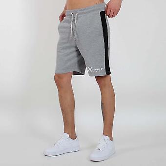 Nuevo Club Panel Shorts - Grey / Black