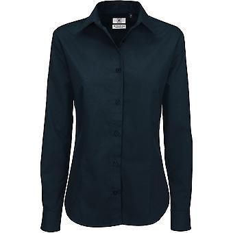 B&C Collection - B&C Sharp Long Sleeve Shirt - Ladies Womens - Business Workwear