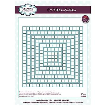 Sue Wilson Noble Collection Squared Squares Die Set