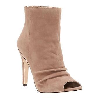 Jessica Simpson Womens Elyn cuir Peep Toe cheville Fashion bottes