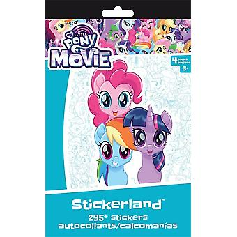 Stickerland Pad - My Little Pony Movie - 4 pages New st3104