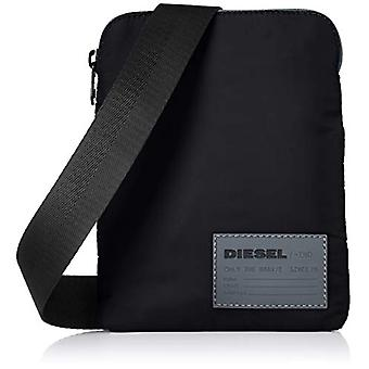 Diesel F-DISCOVER CROSS - Men's Backpack - Black (Black) - 4x19.5x15 centimeters (W x H x L)