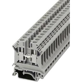 Terminal strips - screw connection type UK 6 N Phoenix Contact Grey