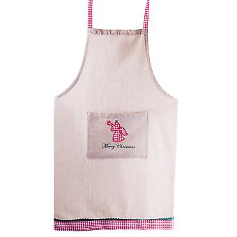Merry Christmas' Tree Fabric Kitchen Cooking Apron