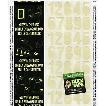 Glow In The Dark Duck Tape Sheets 4.25