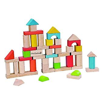 EverEarth Wooden Building Blocks (50 pieces) (Jouets , Maternelle , Constructions)
