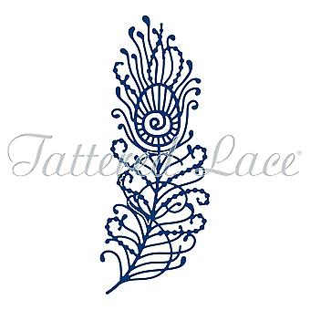 Tattered Lace Peacock Feather Die