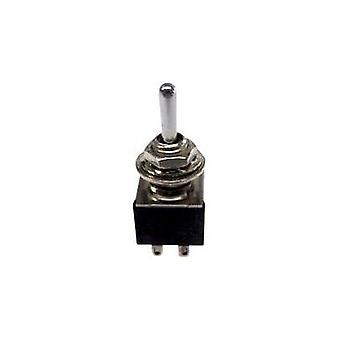 Toggle switch 250 Vac 3 A 2 x On/On SCI TA202A1 latch 1 pc(s)