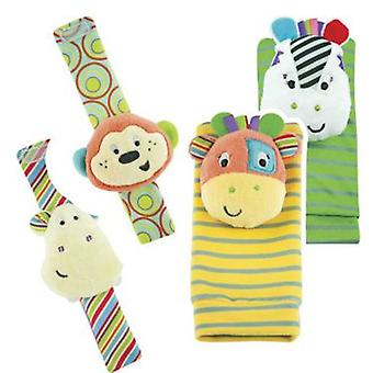 Tachan Baby Socks Set Little Pals (Toys , Preschool , Babies , Early Childhood Toys)